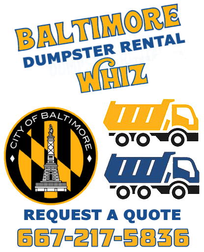 Baltimore dumpster rental services